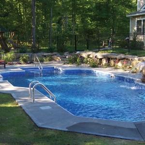 Custom Inground Concrete Pools